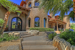 second home in Palm Desert