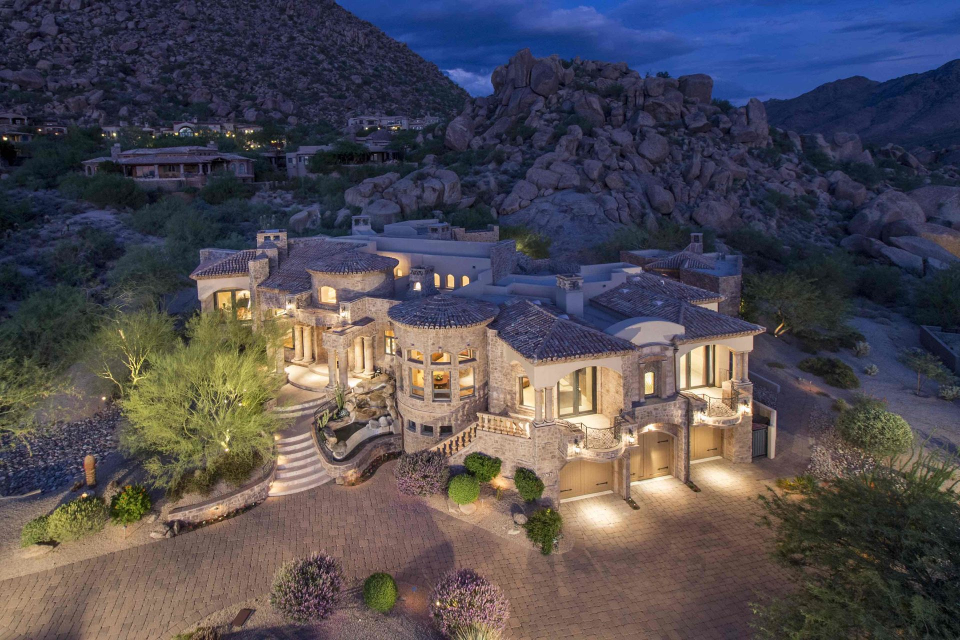 Scottsdale az homes for sale with panoramic views for Az cabins for sale