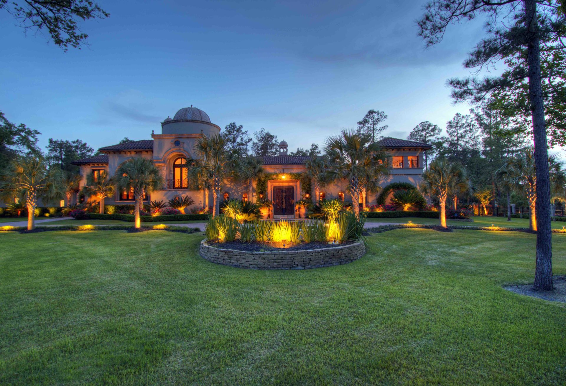 Mediterranean Mansions for Sale in The Woodlands