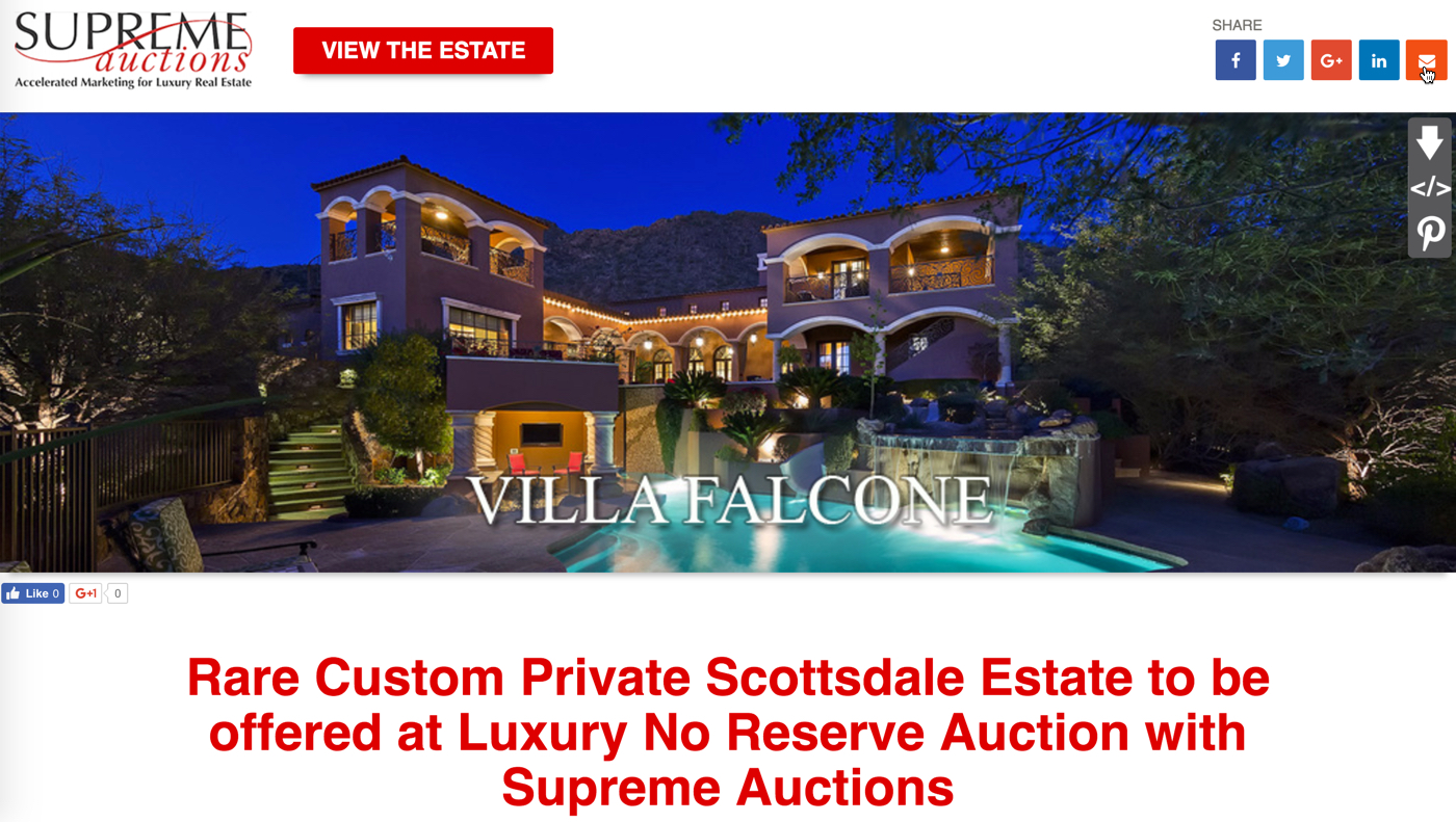 Scottsdale mountain home for sale