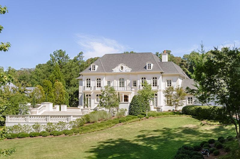 European Luxury Mansion For Sale In Atlanta Georgia 2 Acres