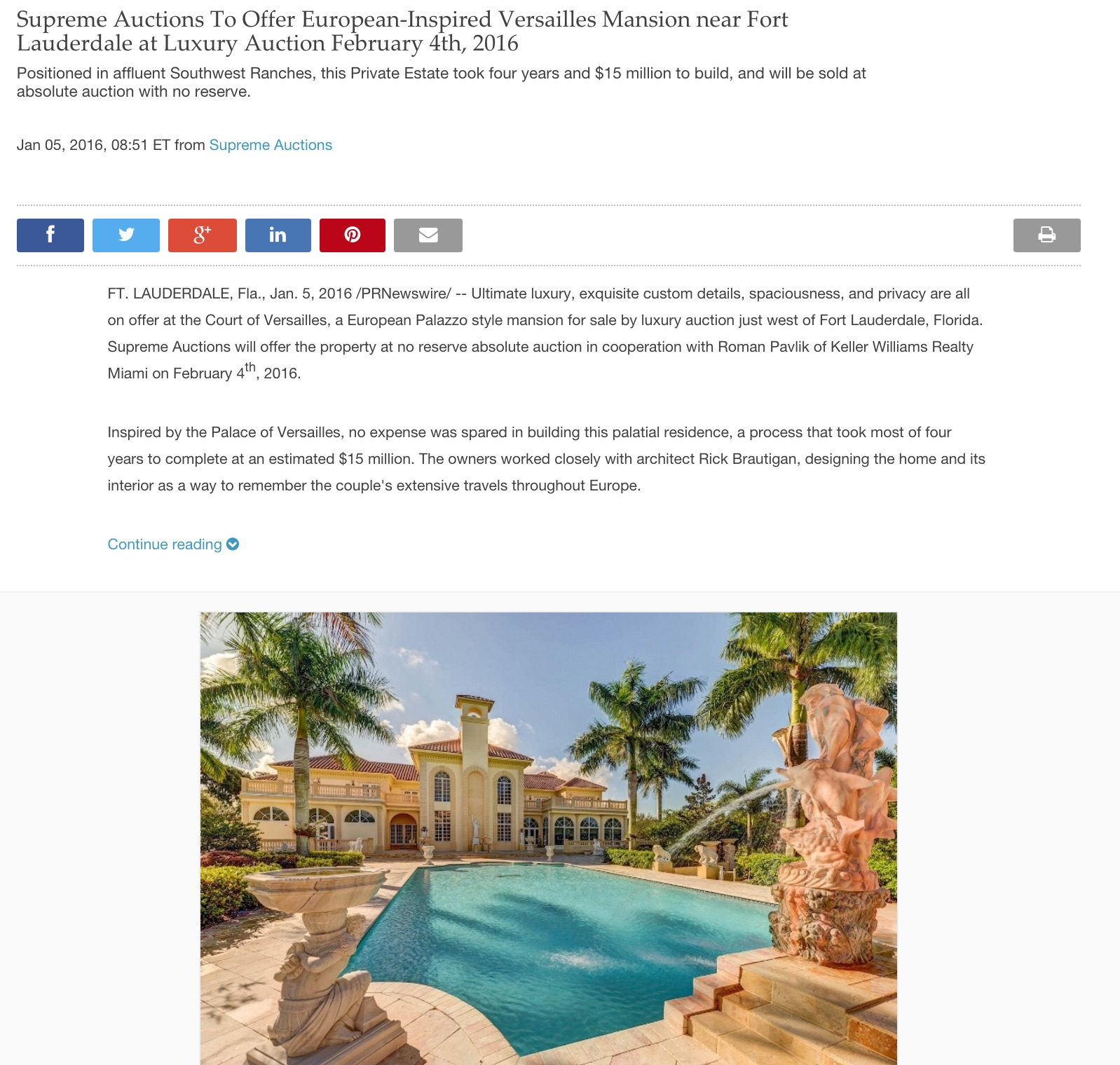 Luxury Equestrian Property for Sale in Florida