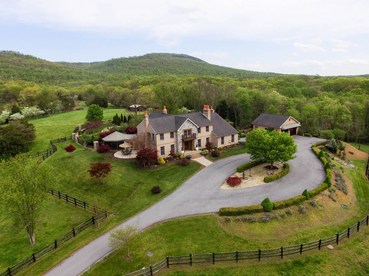 76 Acre Horse Farm Amp Home For Sale In Western Maryland