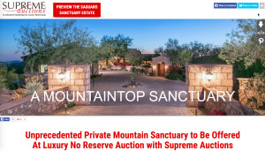 Mountaintop Mansion For Sale in Cave Creek AZ